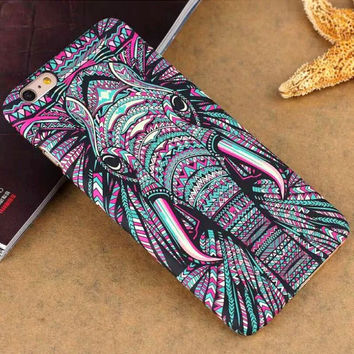 3D Cute Elephant Cool Case for iPhone