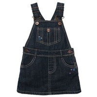 OskKosh B`Gosh Infant Girl`s Denim Jumper