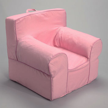 Pink Chair Cover for Foam Childrens Chair