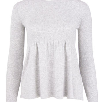 Michael Kors Grey Empire Sweater