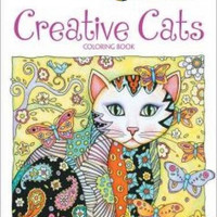 Creative Haven Creative Cats Coloring Book (Adult Coloring)