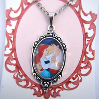 The Little Mermaid - Disney - Ariel and Eric necklace