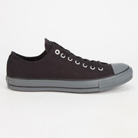 Converse Chuck Taylor All Star Low Mens Shoes Black/Thunder  In Sizes