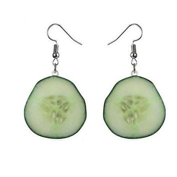 Cucumber Earrings