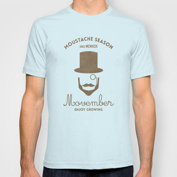 Movember T-shirt by Beardy Graphics