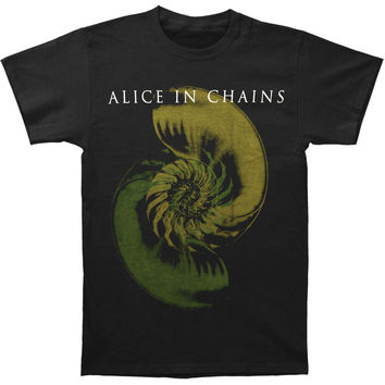 Alice In Chains Men's  Shell Shock T-shirt Black