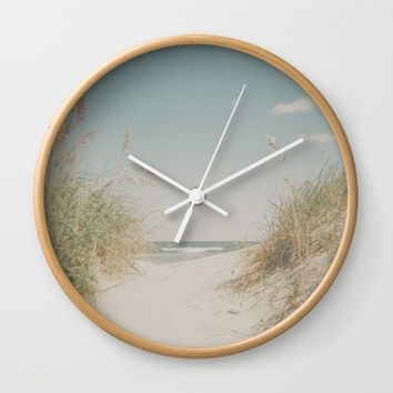 Ocean Isle Wall Clock by Horizon Studio