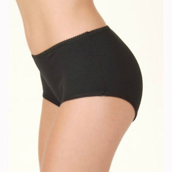 Women's Washable Incontinence Underwear in a BoyShort in 3 Colors