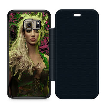Young Britney Spears Flip Samsung Galaxy S6 Edge Case