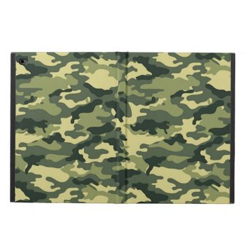 Green Camouflage Pattern Powis iPad Air 2 Case