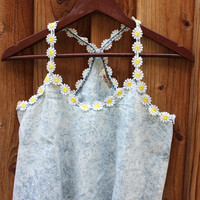 DAISY DENIM TOP | Paper Kranes