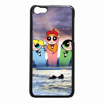 powerpuff girls 3 bdec64b3-1584-413b-8c31-8fb4e97b03e6 FOR iPhone 5C CASE *NP*