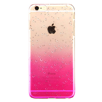 Water Splash Clear iPhone Case