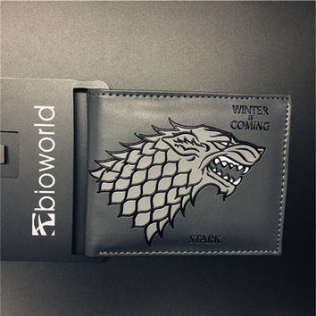 Stark Winter Is Coming Game Of Thrones Wallet