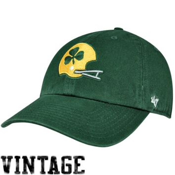Notre Dame Fighting Irish '47 Brand Classic Franchise IV Fitted Hat – Green