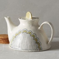 Running Stitch Teapot by Anthropologie