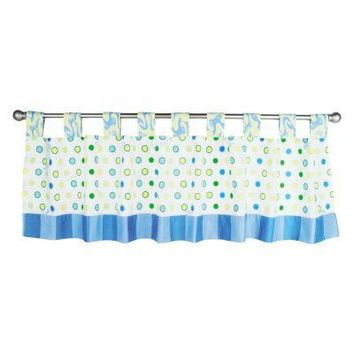 Dr. Seuss Oh, the Places You'll Go! Blue Window Valance
