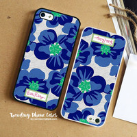 Hello Kirsty Blue-Lilly Pulitzer iPhone Case Cover for iPhone 6 6 Plus 5s 5 5c 4s 4 Case