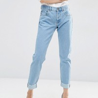 ASOS | ASOS Carrot Boyfriend Jeans in Bleach Wash at ASOS