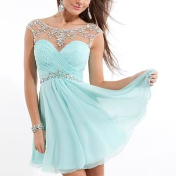 Rachel Allan Dress 6635 Homecoming Dress - PromDressShop.com