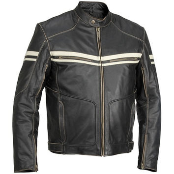 Handmade men leather jacket,with front quality zipper and button, biker leather jacket, mens pure leather jacket