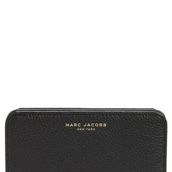MARC JACOBS Gotham Compact Leather Wallet | Nordstrom