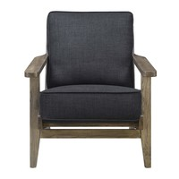 Ryder Accent Chair ONYX - ANTIQUE WOOD