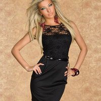 2015 Women Girls Summer Clothing Sexy Slinky Lace Casual Dress Party Club Dress Dress for Girls