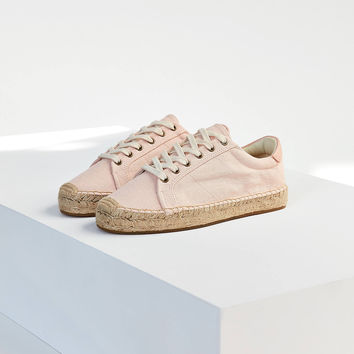 Soludos Canvas Platform Tennis Espadrille Sneaker | Urban Outfitters