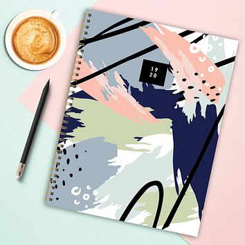Abstract Painting Large Academic Weekly/Monthly Planner