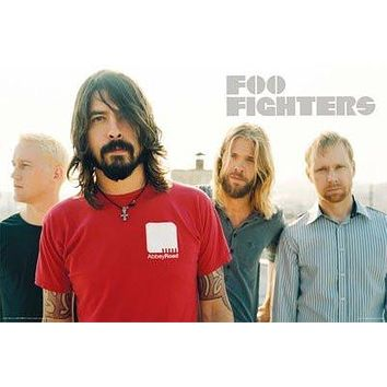 FOO FIGHTERS POSTER Group Shot RARE HOT 24X36