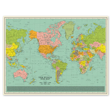 So into this design on Fab! World Song Map #FabForAll