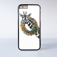 Cute Giraffe Plastic Case Cover for Apple iPhone 6 6 Plus 4 4s 5 5s 5c