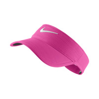 Nike Perforated Adjustable Golf Visor (Pink)