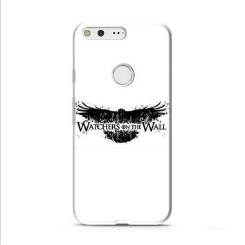 Game Of Thrones Watchers On The Wall Typo Google Pixel 2 Case
