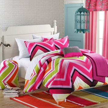 Chic Home Ziggy Zag Reversible Comforter Set you'll love | Wayfair