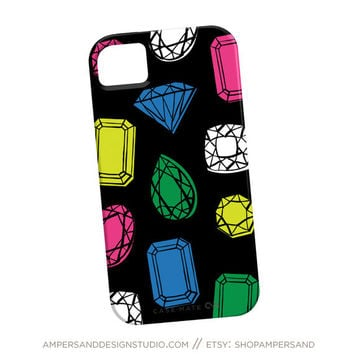 iPhone 4 or 5 case  You're a Gem gemstones by shopampersand