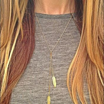 Shiny New Arrival Jewelry Gift Accessory Stylish Simple Design Tassels Necklace [8804751303]