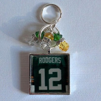 Aaron Rodgers Keychain - Green Bay Packers