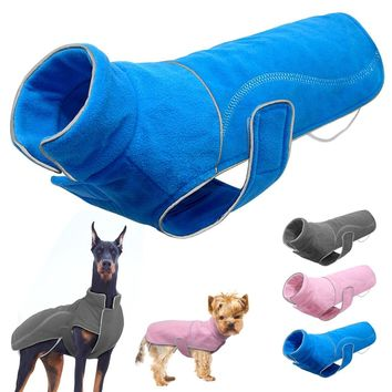 Spring Winter Dog Clothes Reflective Warm Dogs Clothes Jacket Pet Sweater Coat For Small Medium Large Dogs Pit bull Chihuahua