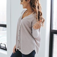 Southern Comfort Top - Dusty Lilac