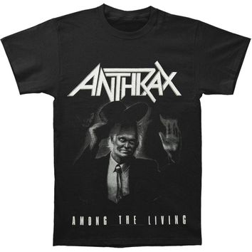 Anthrax Men's  Among The Living T-shirt Black