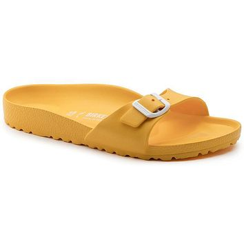 Best Online Sale Birkenstock Madrid Essentials Eva Scuba Yellow 1003516 Sandals