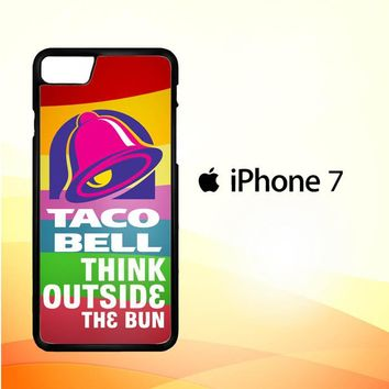 taco bell logo Z3337 iPhone 7 Case
