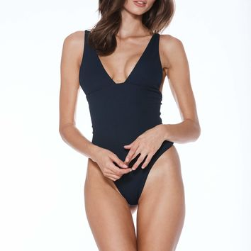 MGS Banned One Piece - Navy Rib