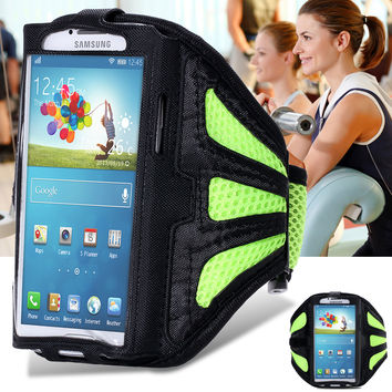 Waterproof Sport Armband For Samsung Galaxy S3 S4 S5 Phone Bag Entertainment Accessories With Adjustable Tune Belt Stand Case