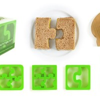 Match & Munch -  Puzzle Sandwich Cutters