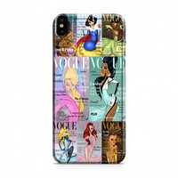 Disney Princess Vogue iPhone X case