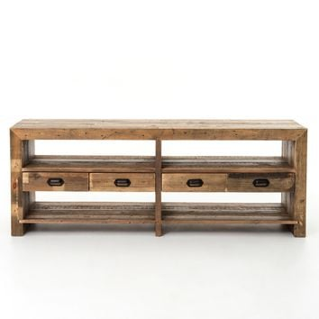 Bellona Reclaimed Wood Media Console