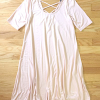 Breezy Cross Back Summer Dress